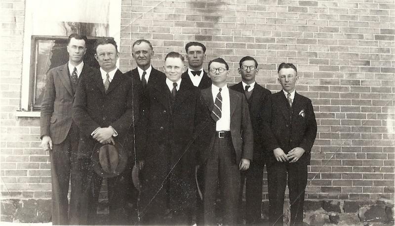 David B Matson and Early Stockton, Tooele, Utah Sunday School Leadership