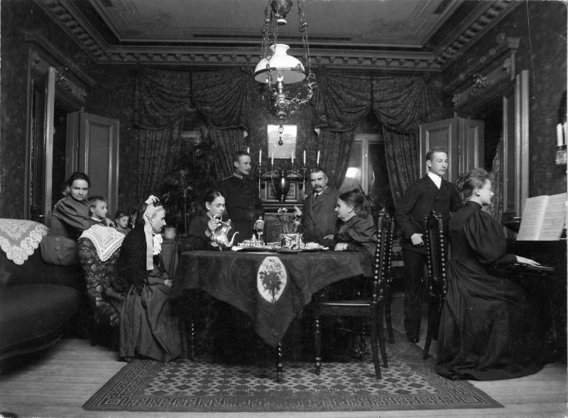 Hammarstrom Family, about 1893-1896