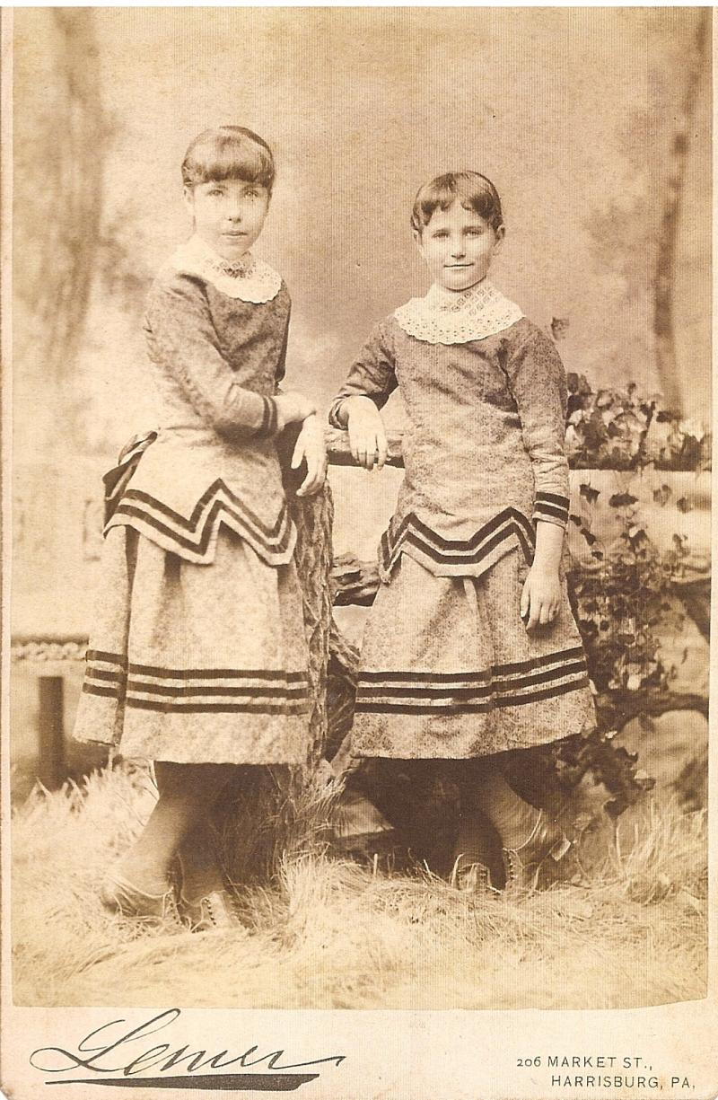 Martha and Jane Hammond, maybe 1881