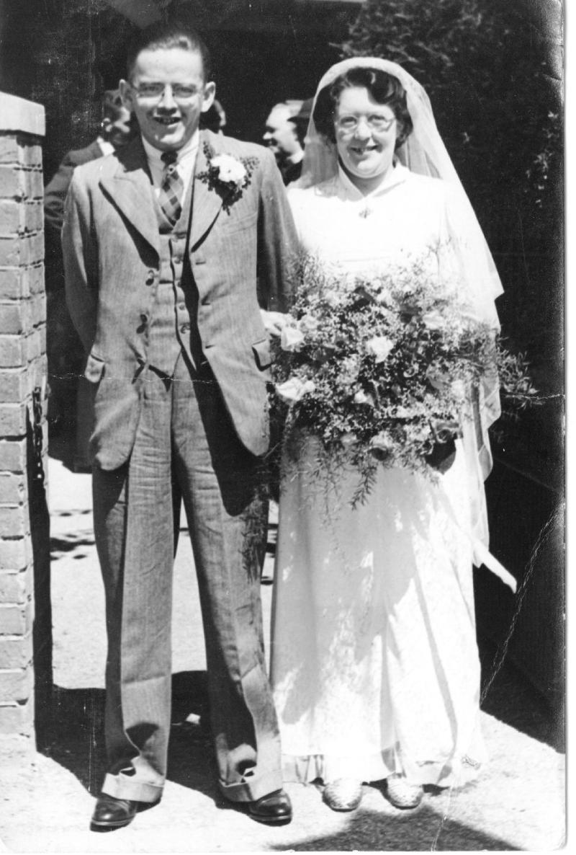Wedding of Duane Cottrell & Gladys Lane