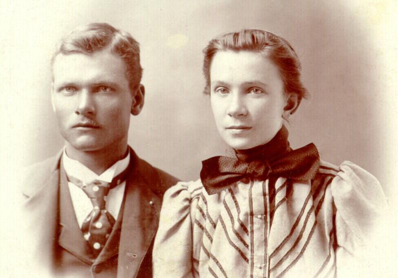 Axel Edward and Clarissa Matson