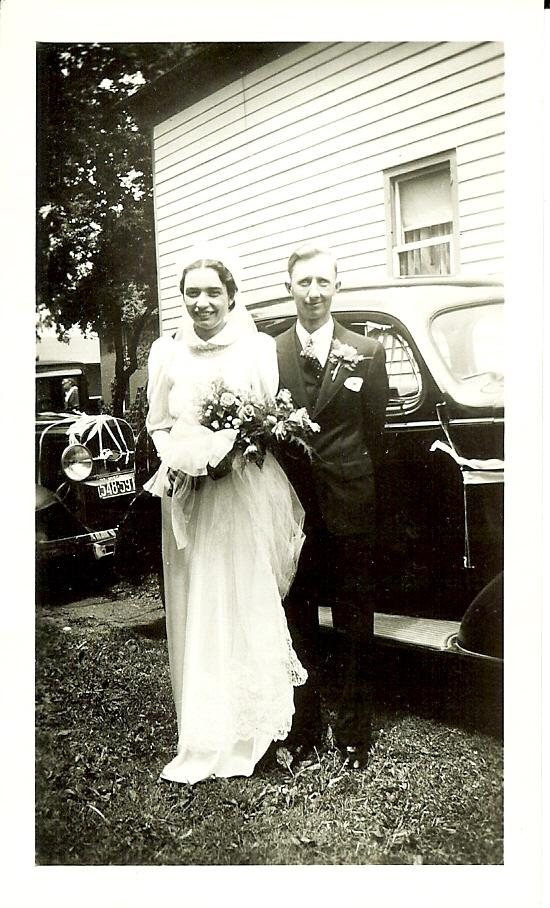Bernard and Dorothy Bengel wedding (1937)