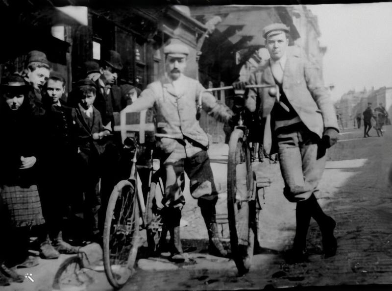 Claude Harold Pearce, cyclist