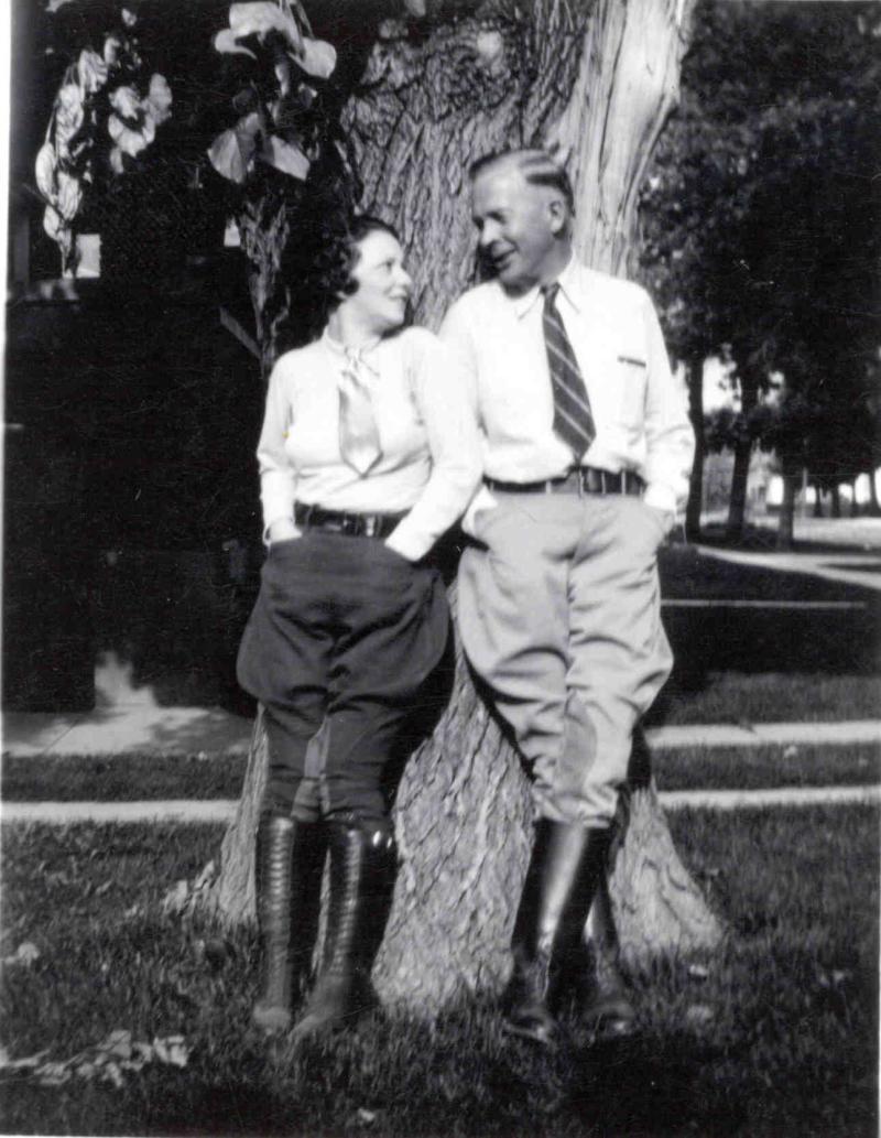 Annie Ruth Redington and second husband Boyce Curtis Jones