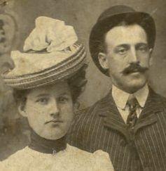 Bessie Killian and William Potts Gillespie Jr., parents of William P & Louise Gillespie
