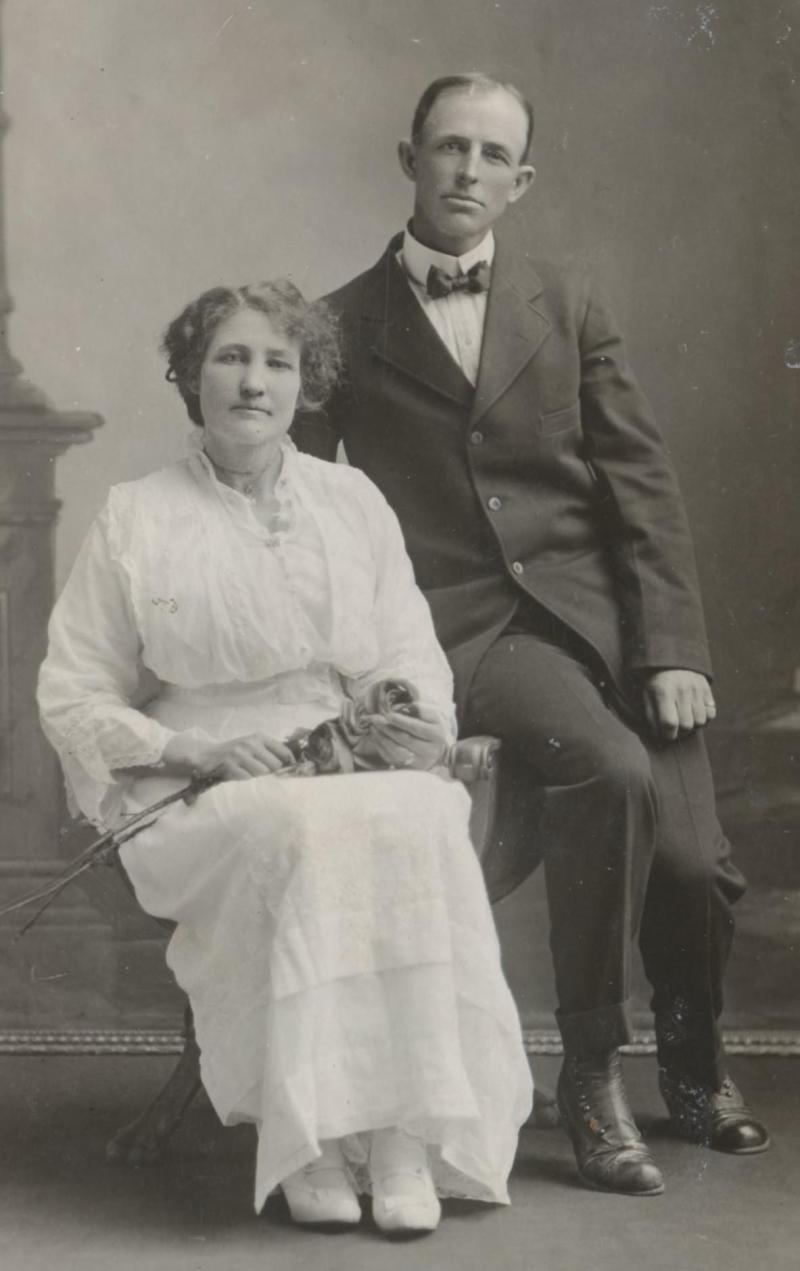 Clara Bell Stewart & William John Smith