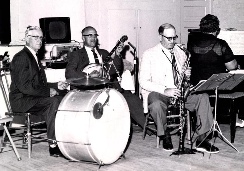 Eddie Jacobson Band 1970