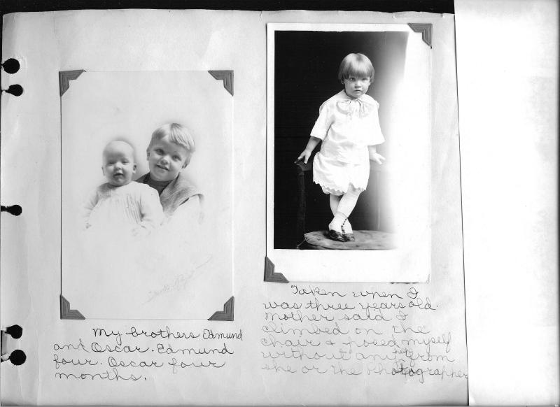 The three brothers : Oscar Mahlon Cragun, Edmund Mower Cragun, and Wilford Rumel Cragun