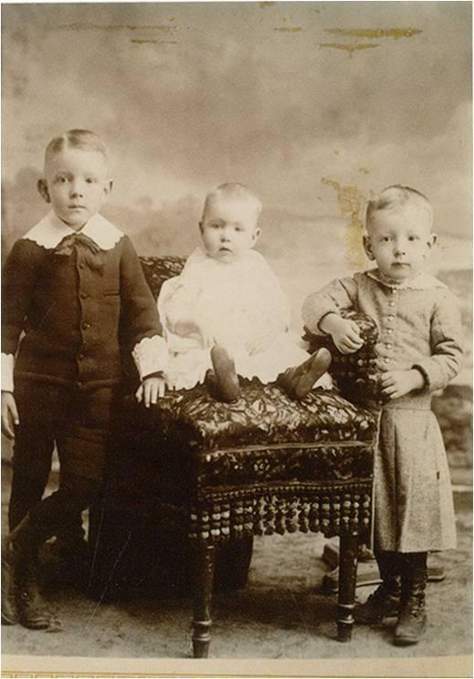 "Mons Monson's children ""about 1893"""