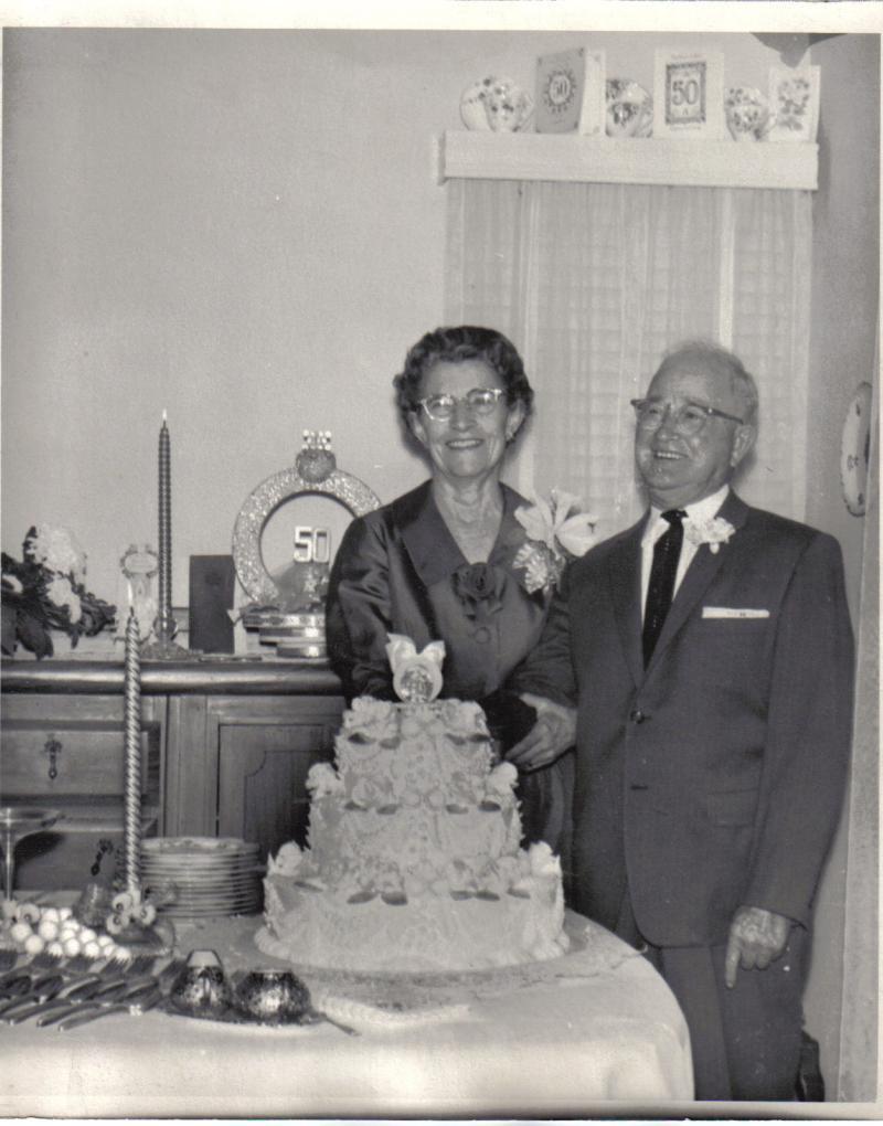 Zetta and Freds 50th Wedding Anniversary