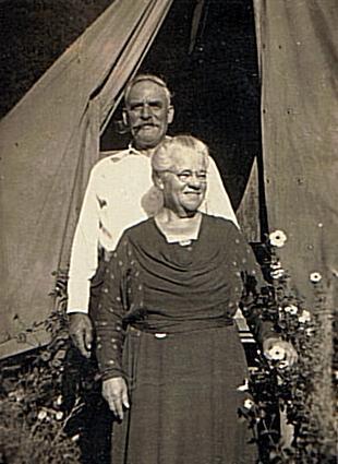 Eli Henry Potter and Lucy Ann Ridoutt