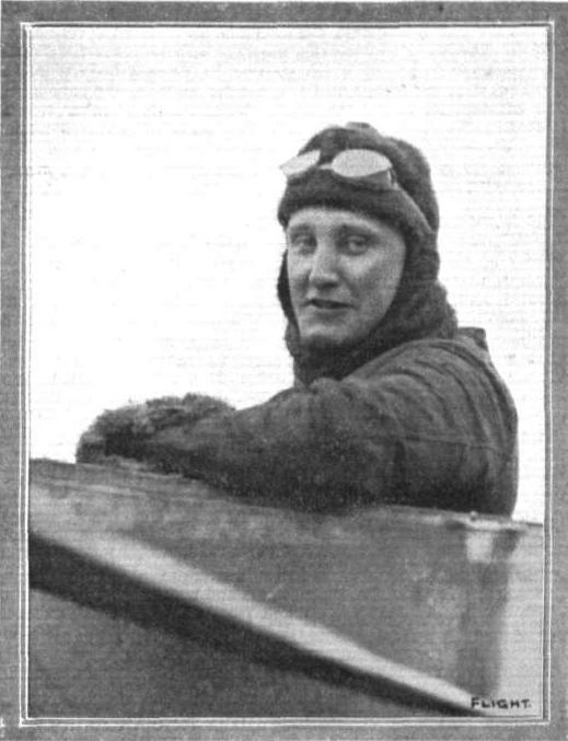 Damer Leslie Allen, aviator