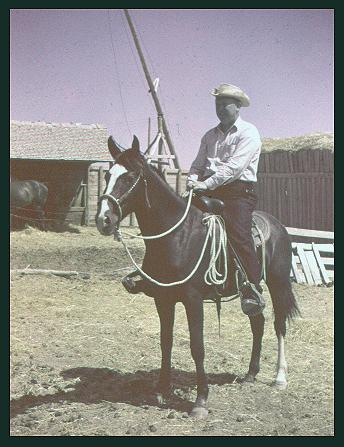 1948 - Orson Martell on horse