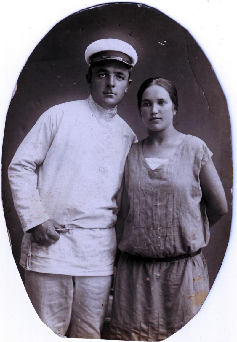 Иван Яценко и Анна Косяк