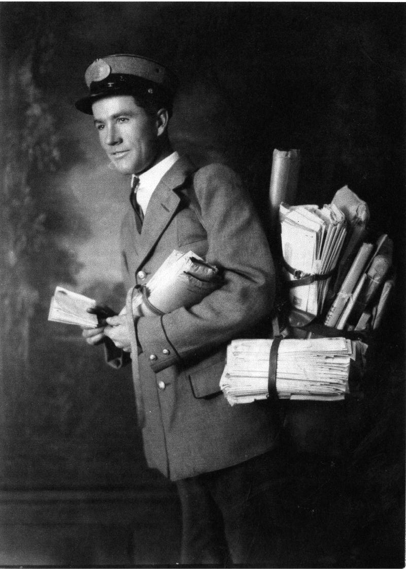 Heber John Done - Rural route mailman