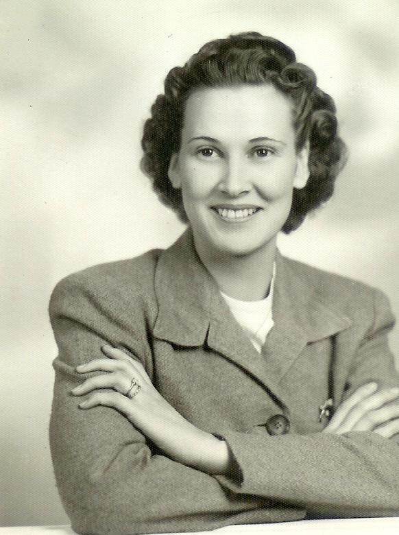 Helen Jessie Johnson Melton in 1943
