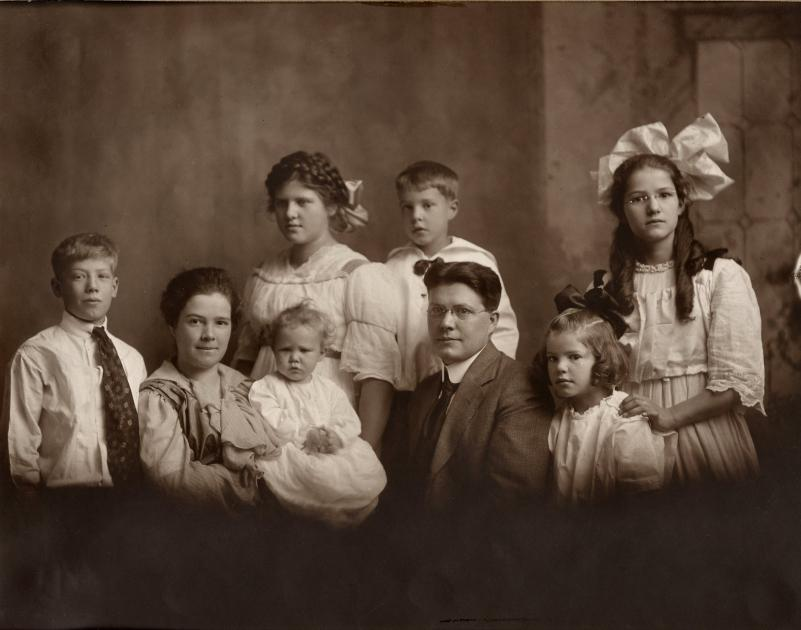 *Robison Family - Marva is not yet born.