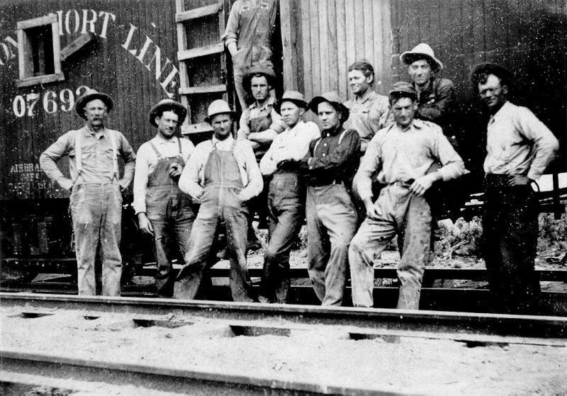 Oregon Short Line Construction Crew