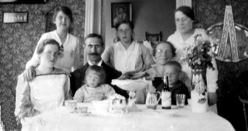 Hemma hos Anders o Julia omk 1917