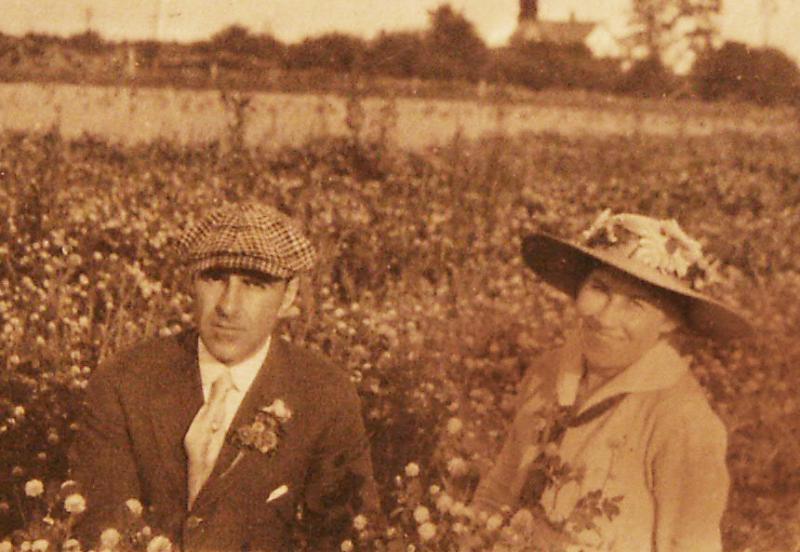 Edward Melzer and Antoinnette Egermeyer