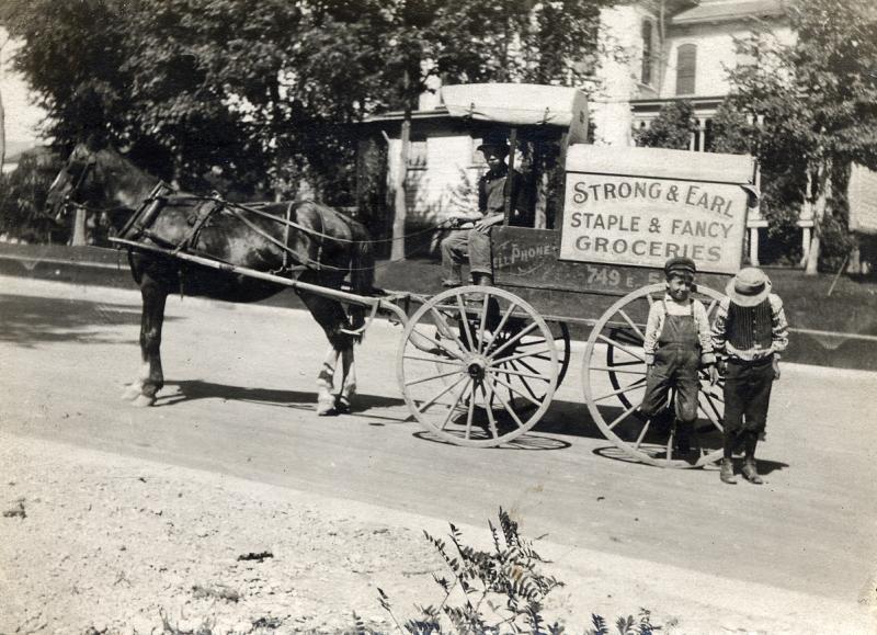 Strong & Earl Horse Cart