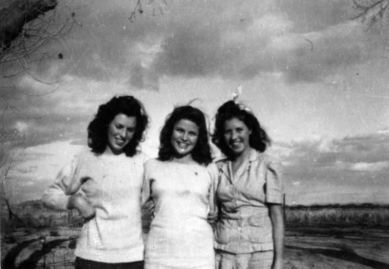 Nay Cousins: Laverne, Betty, Lorraine