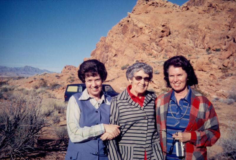 Fun in the Desert - Lorraine, Doris, Laverne