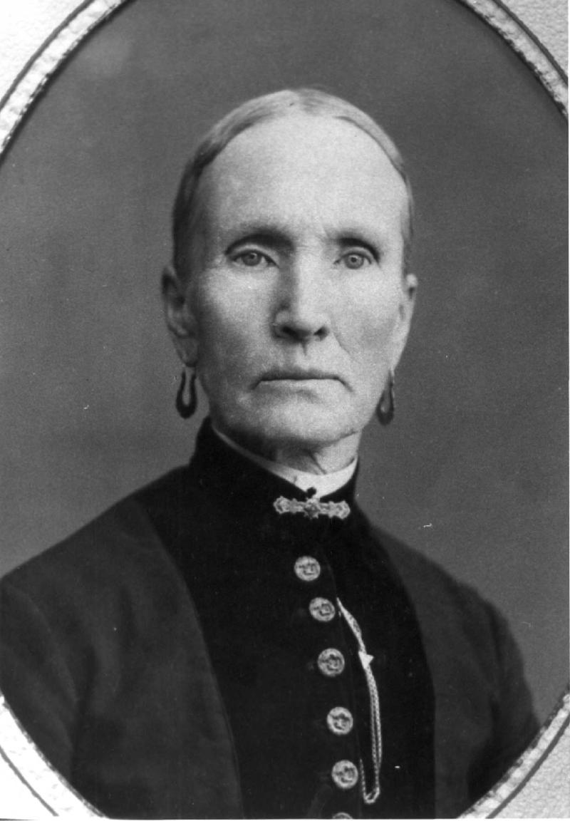 Hannah Elida Baldwin Crosby, Taken in St. George