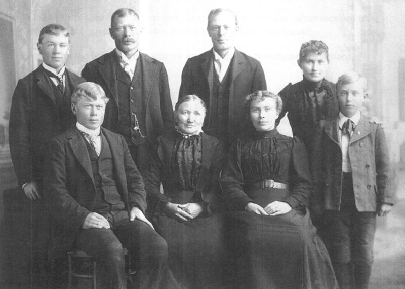 Hans Peter Jensen Family Portrait