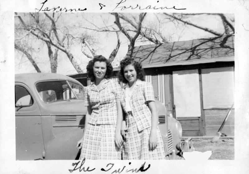 Whitney Twins in Paradise Valley, Nevada