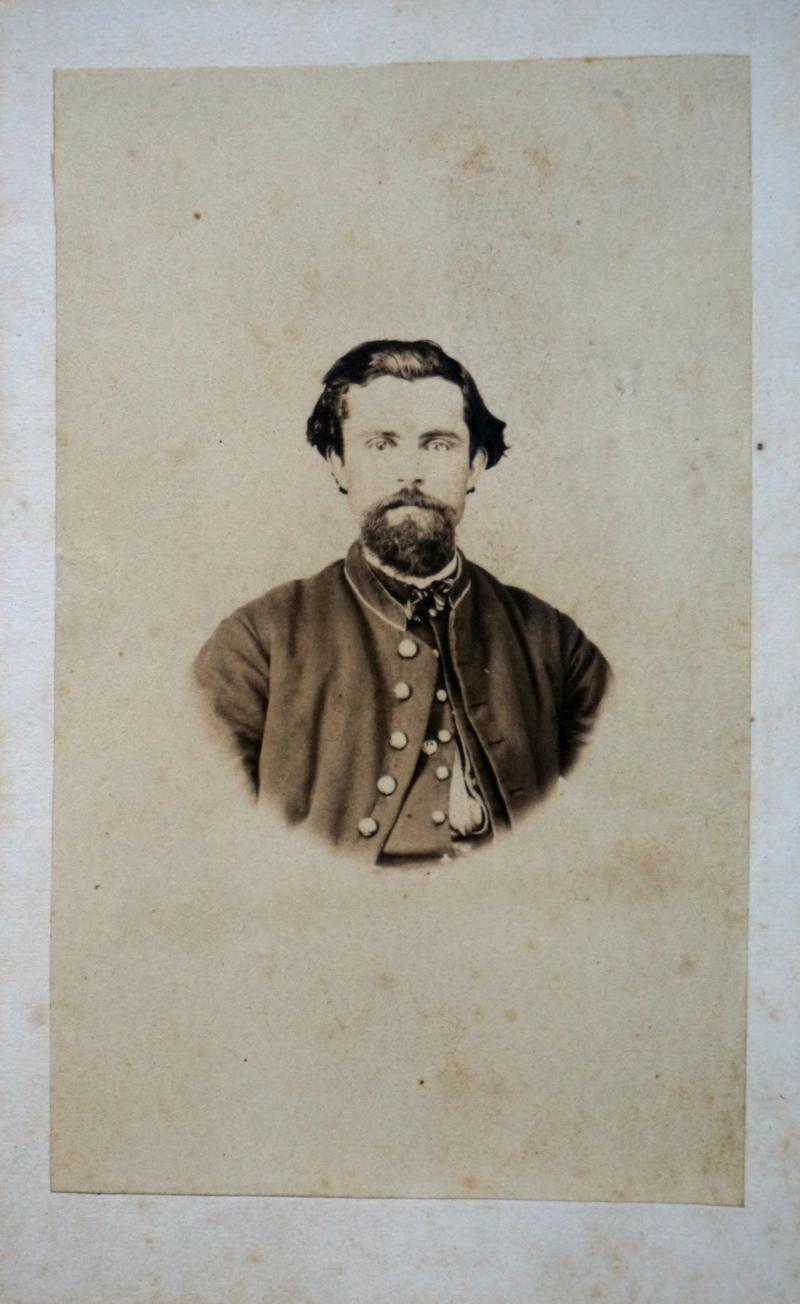 Civil War Portrait for Nelson Spicer Westcott - Company H circa 1863