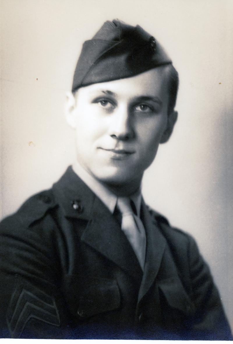 John Milton Whitaker, WWII